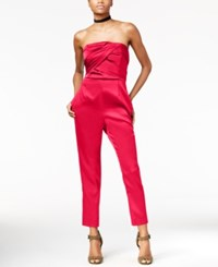 Rachel Roy Strapless Jumpsuit Only At Macy's Passion