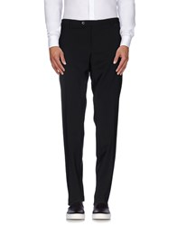 Royal Hem Trousers Casual Trousers Men Black