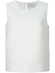 Mary Katrantzou 'Alphabet' Tank Top White