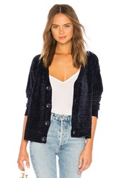 Lovers Friends Roma Chenille Cardi Blue