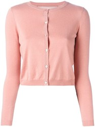Red Valentino Cropped Cardigan Pink