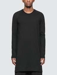 11 By Boris Bidjan Saberi Extra Long T Shirt Black
