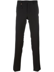 Incotex Skinny Tailored Trousers Black