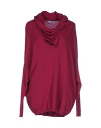 Liu Jo Jeans Knitwear Turtlenecks Women Fuchsia