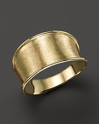 Marco Bicego 18K Yellow Gold Engraved Lunaria Small Band Ring