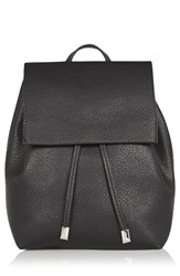Topshop Chain Strap Mini Faux Leather Backpack