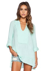 Michael Stars Rolled Sleeve Tunic Mint