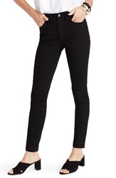 Madewell Women's High Waist Skinny Jeans True Black