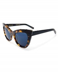Pared Eyewear Puss And Boots Cat Eye Sunglasses Brown Tortoise Brown Pattern