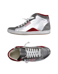 Aniye By Footwear High Tops And Trainers Women Silver