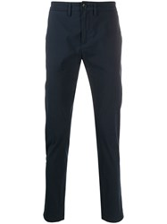 Department 5 Mike Slim Fit Chinos Blue