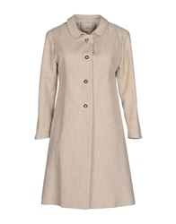 .. Merci Merci Full Length Jackets Beige