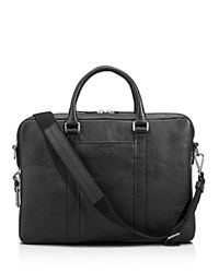 Shinola Slim Commuter Briefcase Black