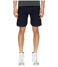 Matiere Soren Knit Shorts Indigo Men's Shorts Blue