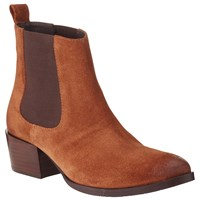 Collection Weekend By John Lewis Pace Suede Ankle Boots Tan