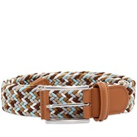 Andersons Anderson's Woven Textile Belt Brown