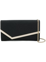 Jimmy Choo Emmie Clutch Black