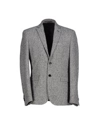 Fdn Suits And Jackets Blazers Men Grey