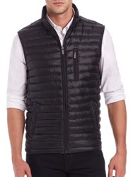 Saks Fifth Avenue Thermoluxe Puffer Vest Red Grey Black Blue