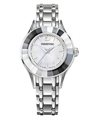 Swarovski Swiss Alegria Stainless Steel Bracelet Watch Silver