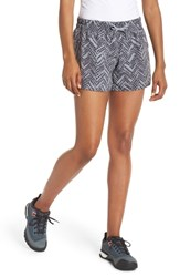 The North Face Class V Shorts Asphalt Grey Chevron Print