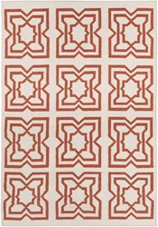 Chandra Lima Patterned Rectangular Reversible Wool Cotton Area Rug 3 White