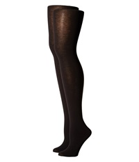 Hue Heat Temp Tights 2 Pack Black Black Hose