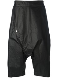 Lost And Found Ria Dunn Snap Button Shorts Black