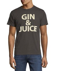 Chaser Gin And Juice Crewneck Tee Black