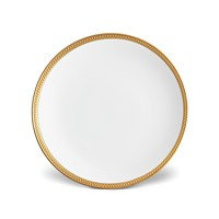 L'objet Soie Tressee Gold Plated Dinner Plate