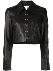 Alice Mccall Sweet Street Cropped Jacket Black