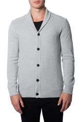 7 Diamonds 'Noma' Button Cardigan Gray