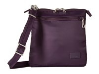 Pacsafe Citysafe Cs50 Anti Theft Crossbody Purse Mulberry Cross Body Handbags Purple