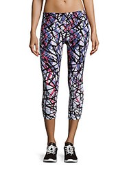 Calvin Klein Printed Pull On Pants Multicolor
