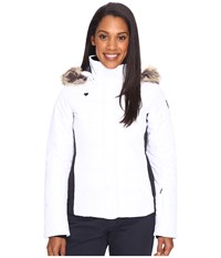 Obermeyer Tuscany Jacket White Women's Coat