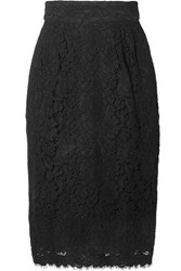 J.Crew Lace Skirt Black