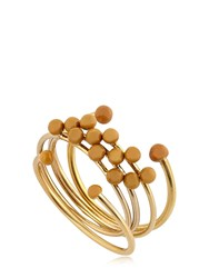 Isabel Marant Rosary Set Of 5 Rings