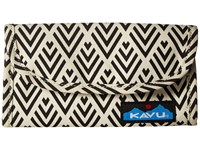 Kavu Big Spender Deco Tiles Wallet Handbags Gray