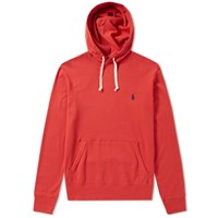 Polo Ralph Lauren Lightweight French Terry Popover Hoody Red