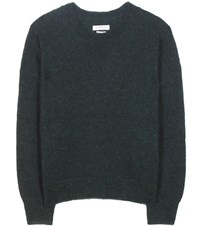 Etoile Isabel Marant Clifton Mohair And Wool Blend Sweater Green