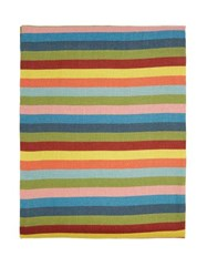 Cabana Magazine Tingere 320Cm X 160Cm Striped Linen Tablecloth Multi