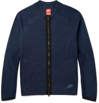 Nike Tech Knit Bomber Jacket Torm Blue Storm Blue