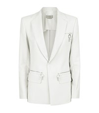 Sportmax Dimitri Zip Pocket Blazer Female Ivory
