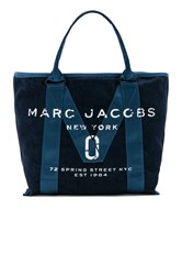 Marc Jacobs New Logo Tote Navy