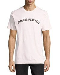 Wesc Max Mirrored Graphic Tee Cradle Pink