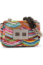 Tom Ford Natalia Mini Sequined Leather Shoulder Bag Multi