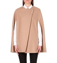 Ted Baker Vickiye Wool Blend Cape Taupe