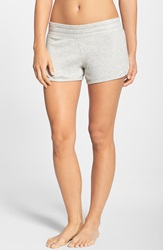 Hard Tail 'Runner' Knit Shorts Heather Grey