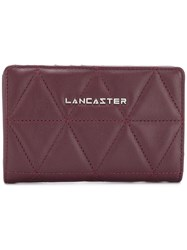 Lancaster Quilted Wallet Red