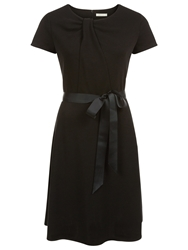 Kaliko Twist Neck Dress Black